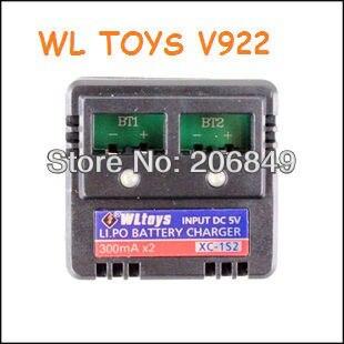 WL Toys V 922 V-922 V922-28 Battery Charger Set  Spare Parts WL V922 2.4G 6Ch Flybarless RTF RC Helicopter