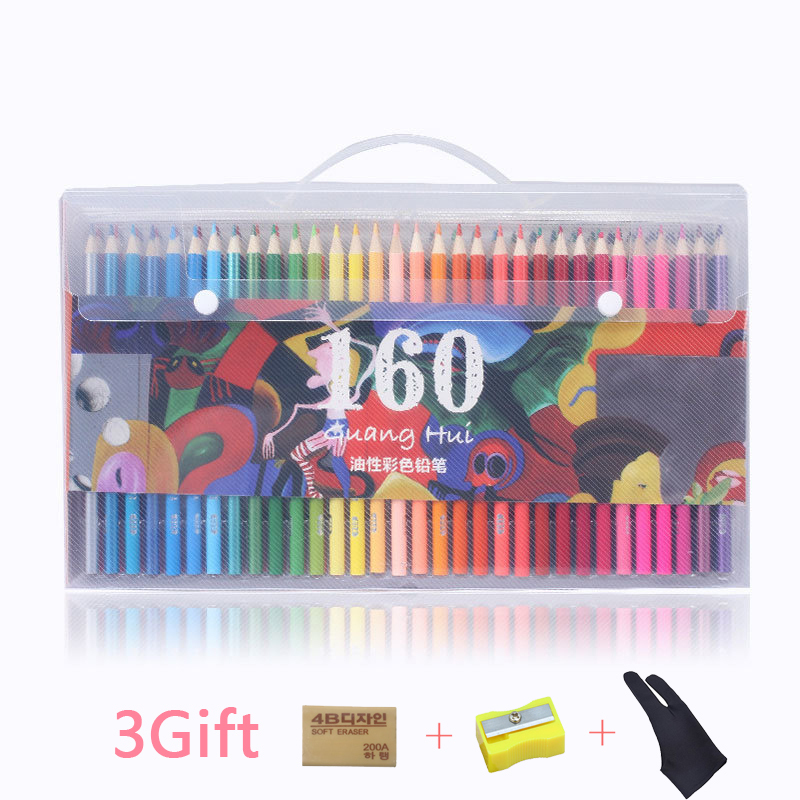 160 Color Pencil Soft Watercolor Pencils Wood Coloured Pencils Set For Drawing Painting Sketch Pastel Pencils gifts for kids160 Color Pencil Soft Watercolor Pencils Wood Coloured Pencils Set For Drawing Painting Sketch Pastel Pencils gifts for kids