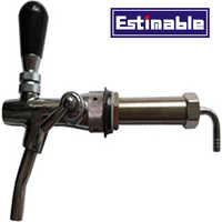 Good quality homebrew beer tap with long shank beer keg copper chrome beer Faucet bar accessories