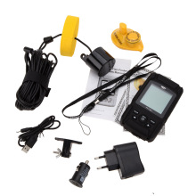 LUCKY FF718Li Portable LCD Fish Finder Wired Wireless Depth Sonar Sensor Sounder Alarm Transducer Sea 100M De Pesca