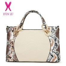 Yanxi nueva venta caliente de alta calidad de cuero de la pu bolso bandolera dama de la moda bolsa de mensajero de lujo diseñador de las mujeres bolsos crossbody 2017