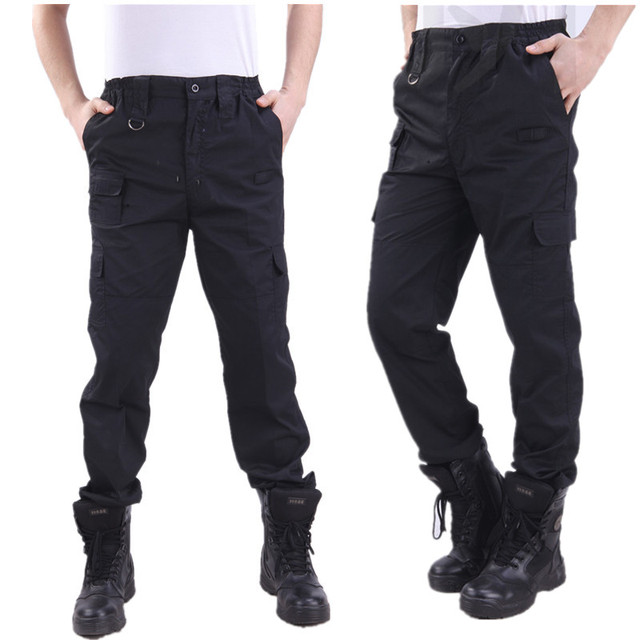 Cargo Paintball Pants Military Tactical Pants Bomber Black Working Pantalone Men Army SWAT Hombre Trousers Plus Size 4XL