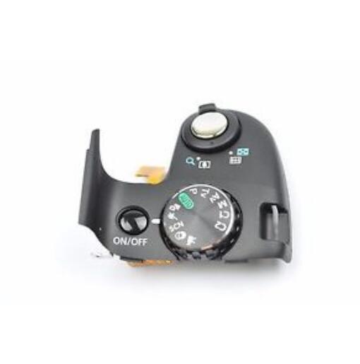90% nouvelle pièce de réparation pour Canon SX50 HS PC1817 couvercle supérieur bouton de déblocage cadran de Mode