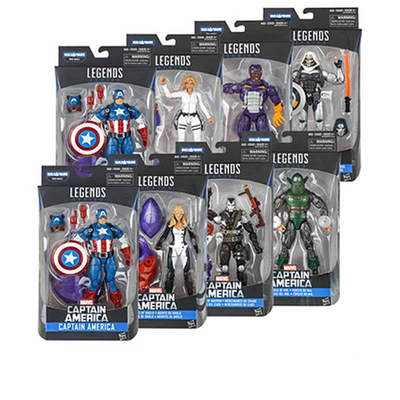 6 action figure Marvel Legends AMERICAN CAPTAIN 3 Collection model  present gift on big sale free shipping6 action figure Marvel Legends AMERICAN CAPTAIN 3 Collection model  present gift on big sale free shipping