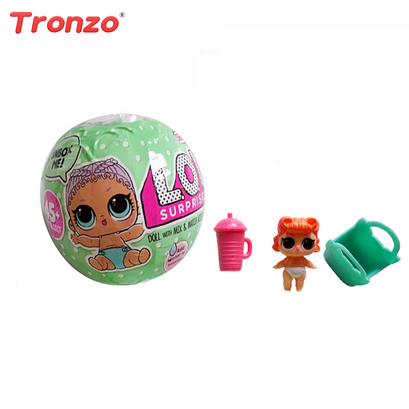 LOL Egg Surprise Doll Magic Funny Removable Egg Ball Doll Toy Educational Novelty Kids Unpacking Surprise Dolls Girls Toys