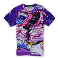 Harajuku 3D Print Japanese Cartoon Majin Buu Magic Man Cloth The Dragonball Graphic T-shirt Short Sleeve Casual Tops Tees Homme