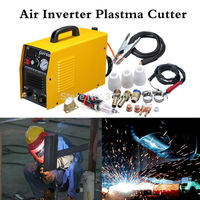 (Ship from EU) 50A Plasma Cutter Cutting Machine Arc with Pressure Gauge Welding Accessories