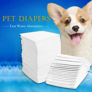 Image 1 - Multi size Pet Dog Diapers Super Absorbent Pet Dog Training Pee Pad Diaper Antibacterial Puppy Dog Nappy Pet Cleaning Supplies