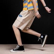 MRDONOO 2019 Summer New Cotton Men's Shorts Cargo