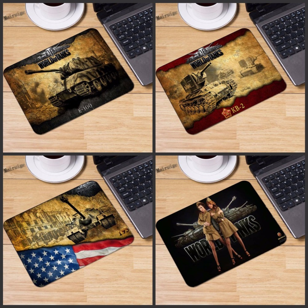 Mairuige New World of tanks Logo mousepad gaming mouse pad laptop mousepad Notbook Computer pad to mouse gamer play Table mats