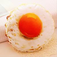 1 piezas 38 cm divertido creativo simulación huevos escalfados juguete de peluche almohada cojín regalo de cumpleaños