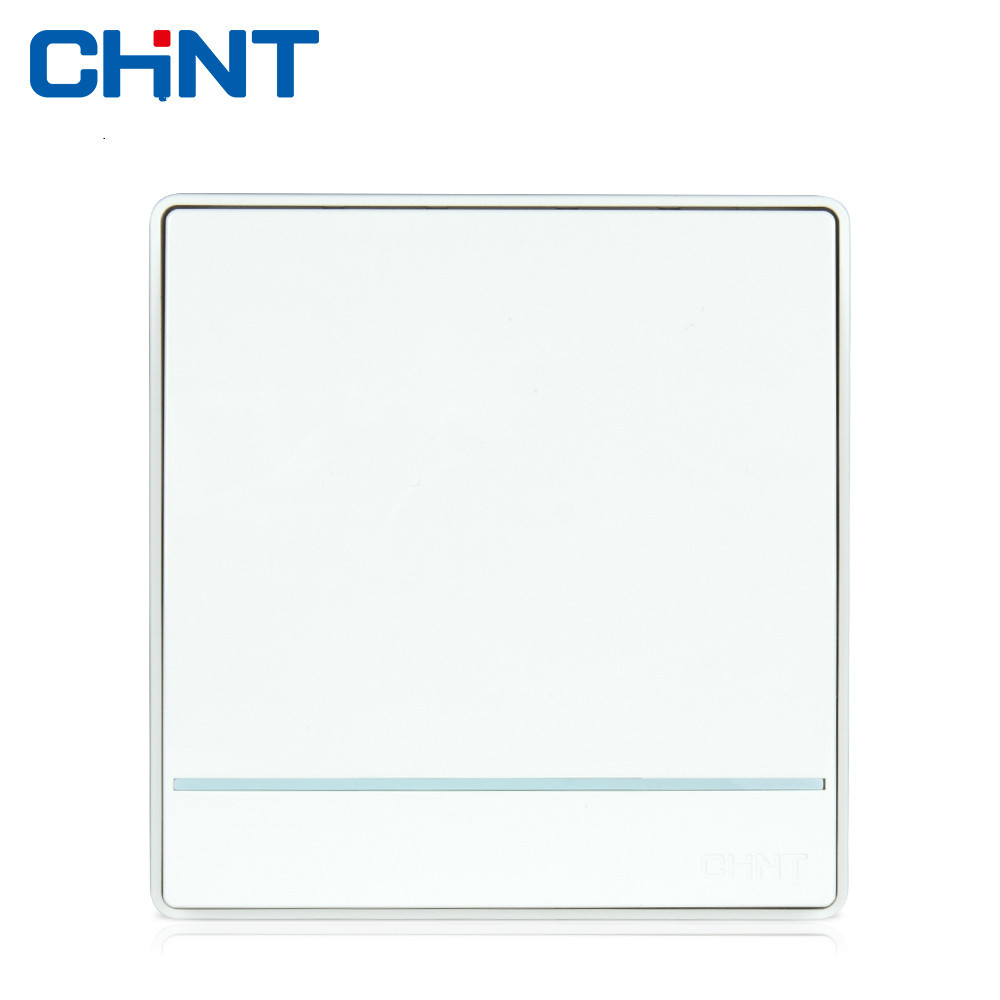 CHINT Electric Wall Switch Socket NEW2D One Gang Multi Control 16A Steel Frame Wall Light Switches home installed wall switch socket 86 type concealed black steel frame to open a double control switch pc 220v 10a