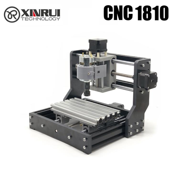 CNC 1810 GRBL contrôle bricolage mini CNC machine, 3 axes pcb fraiseuse, bois routeur laser gravure
