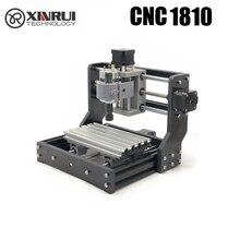 CNC 1810 GRBL בקרת Diy מיני cnc מכונה, 3 ציר pcb כרסום מכונת, עץ נתב לייזר חריטה