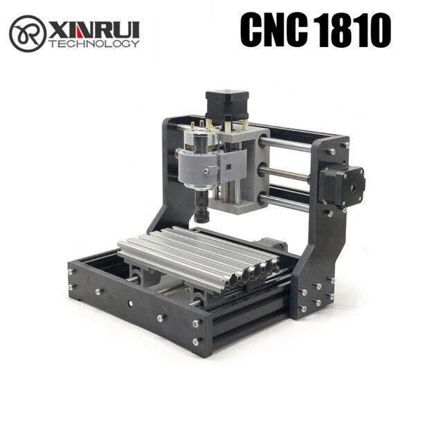 CNC 1810 GRBL kontrolü Diy mini CNC makinesi, 3 Eksen pcb Freze makinesi, Ahşap Router lazer oyma