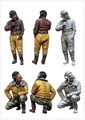 1 35 escala modelo de figuras de resina kit Modern Russo tankman set2