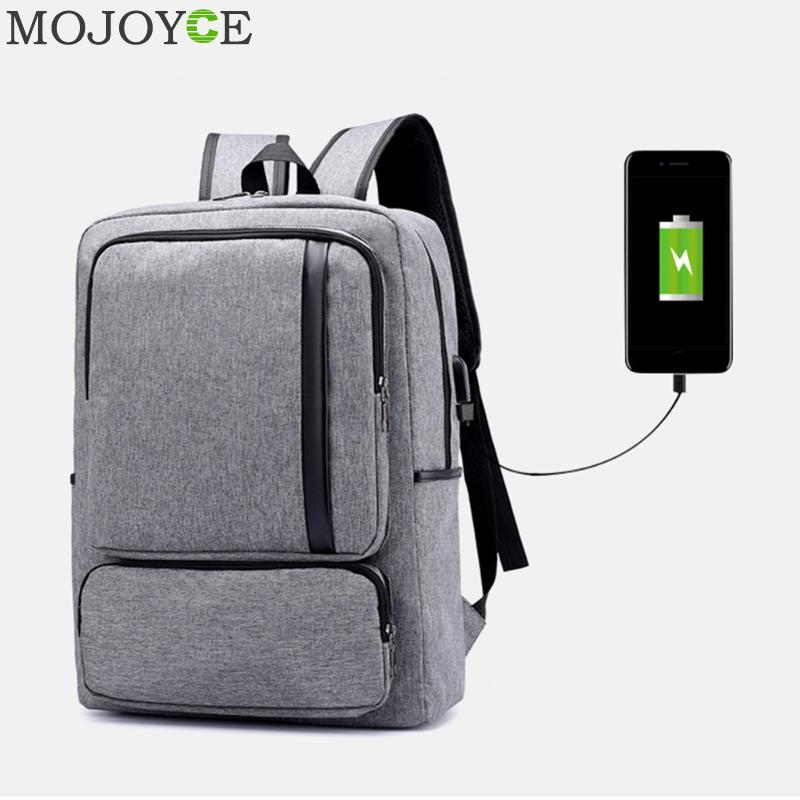 Unisex Business Backpack USB Charging Backpack Big Capacity Teenager Laptop Schoolbags Fashion Men Travel Backpacks Daypack New