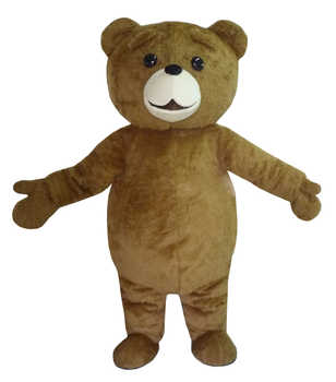 New Ted Costume Teddy Bear Mascot Costume Free Shpping - DISCOUNT ITEM  30% OFF All Category