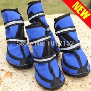 Four season waterproof XXL pet shoes Pet fashion rain boots / large dog booties / large dog shoes with freeshipping