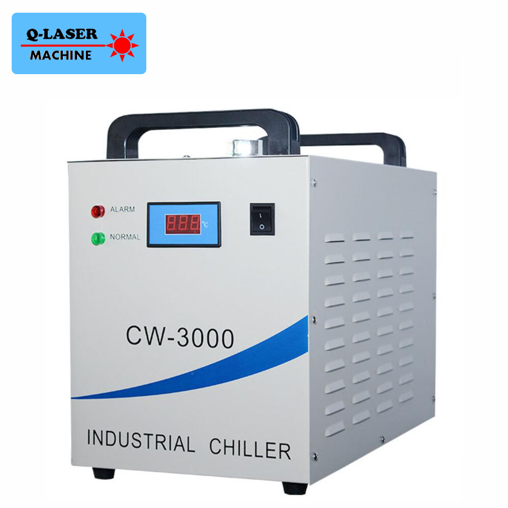 CW-3000AK Industrial Water Chiller Cooling Four 1.5KW CNC Spindles and Welding Equipment chiller cw 3000 cw 5200 water pump voltage 24v dc power 30w flow rate 8 5l min head 8 meter