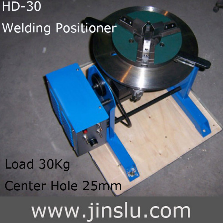 HD-30 Welding Positioner Turn Table Tube Welder with Welding Lache Chuck Cartridge WP 200 semi-automatic welding ...