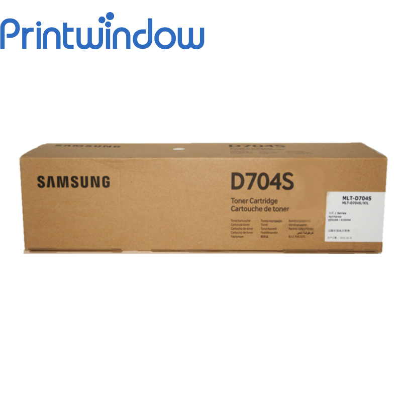 Printwindow Compatible Toner Cartridge MLT-D704 for Samsung MX-K3300NR/K3250NK toner for samsung 2071 mlt d111 see mltd 1112 s xaa xpress slm 2070f laser copier cartridge free shipping