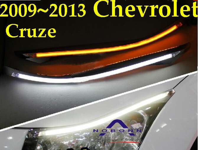 Cruz daytime light,2009~2012;Free ship!LED,Cruz fog light,2ps/set,Cruz