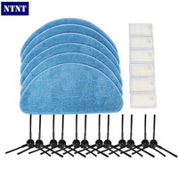 NTNT NEW Vacuum Cleaner Accessories Pack For ECOVACS CR120 X500 X600 Panda X500 Filter Promaster Robot