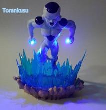 Dragon Ball Z Action Figure Freeza DIY Display Toy Dragonball Z Friza Esferas Del Dragon Freeza Toy DBZ+LED Light DIY10