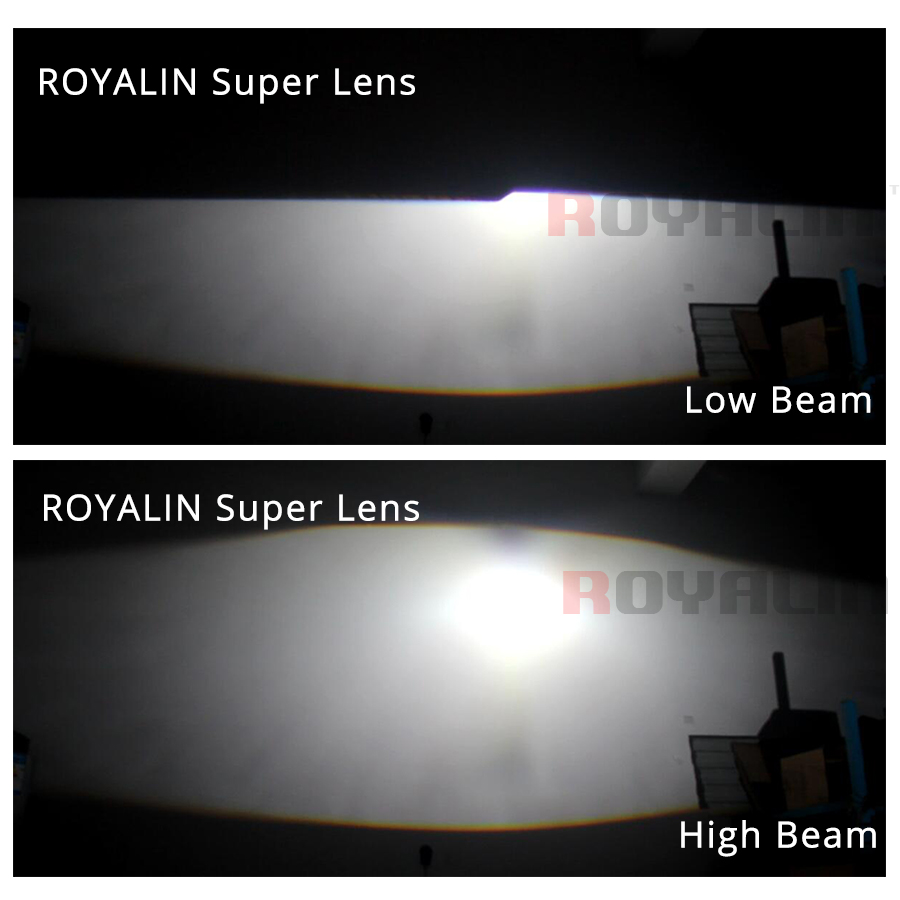 ROYALIN Auto styling HID H1 Bi Xenon Scheinwerfer Projektor Objektiv ...