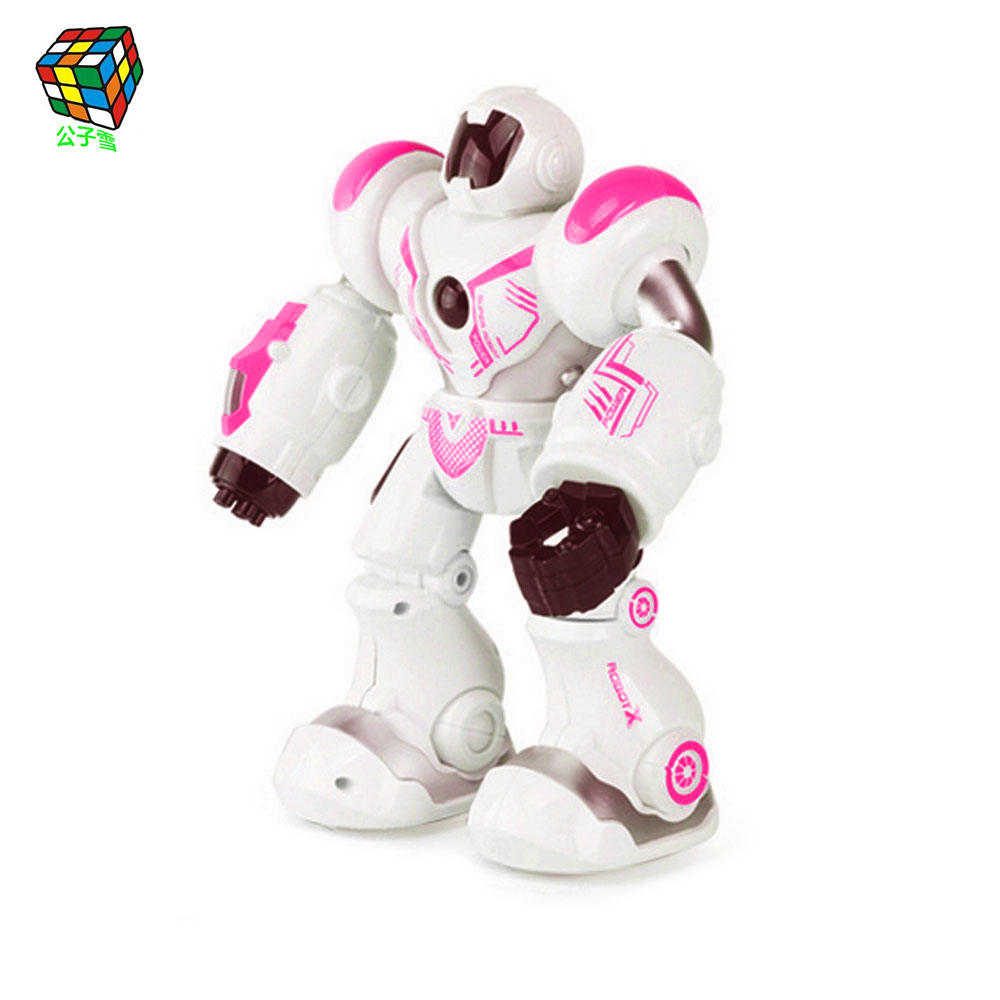 New Intelligent Space Mechanical Warfare Police Robot Smart Space Dance Robot Electronic Walking Toy Astronaut Toy