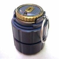 Титановый горшок портативная водостойкая Капсульная бутылка медицина бутылка коробка для хранения танков Открытый походный инструмент