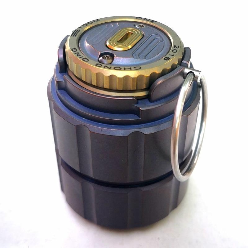 Titanium pot of portable waterproof capsule bottle bottle medicine bottle box storage tanks outdoor camping tool стоимость