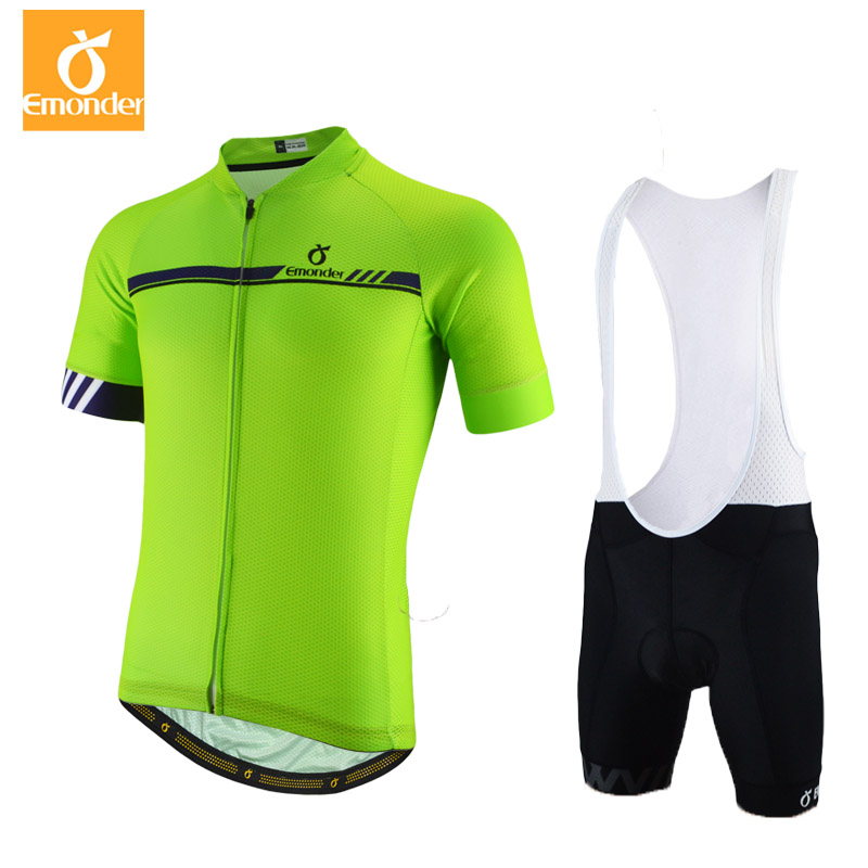 EMONDER Summer Short Sleeve Cycling Jersey Sets Top Quality Mens Road Bike Clothes Sets Breathable Italy fabric 176 top quality hot cycling jerseys red lotus summer cycling jersey 2017s anti uv female adequate quality sleeve cycling clothin