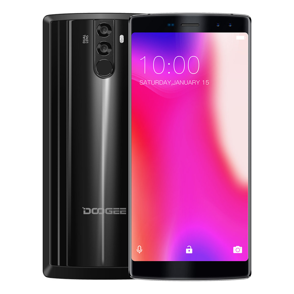 "Original DOOGEE BL12000 Pro 4G Mobile Phones Android 7.0 6GB+64GB Helio P23 Octa Core Smartphone 12000mAh 6.0"" FHD Cell Phone"