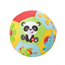 Baby Toys For Children Animal Ball Soft Plush Mobile Toys With Sound Baby Rattle Infant Body Building Ball Toys For 0-12 Months