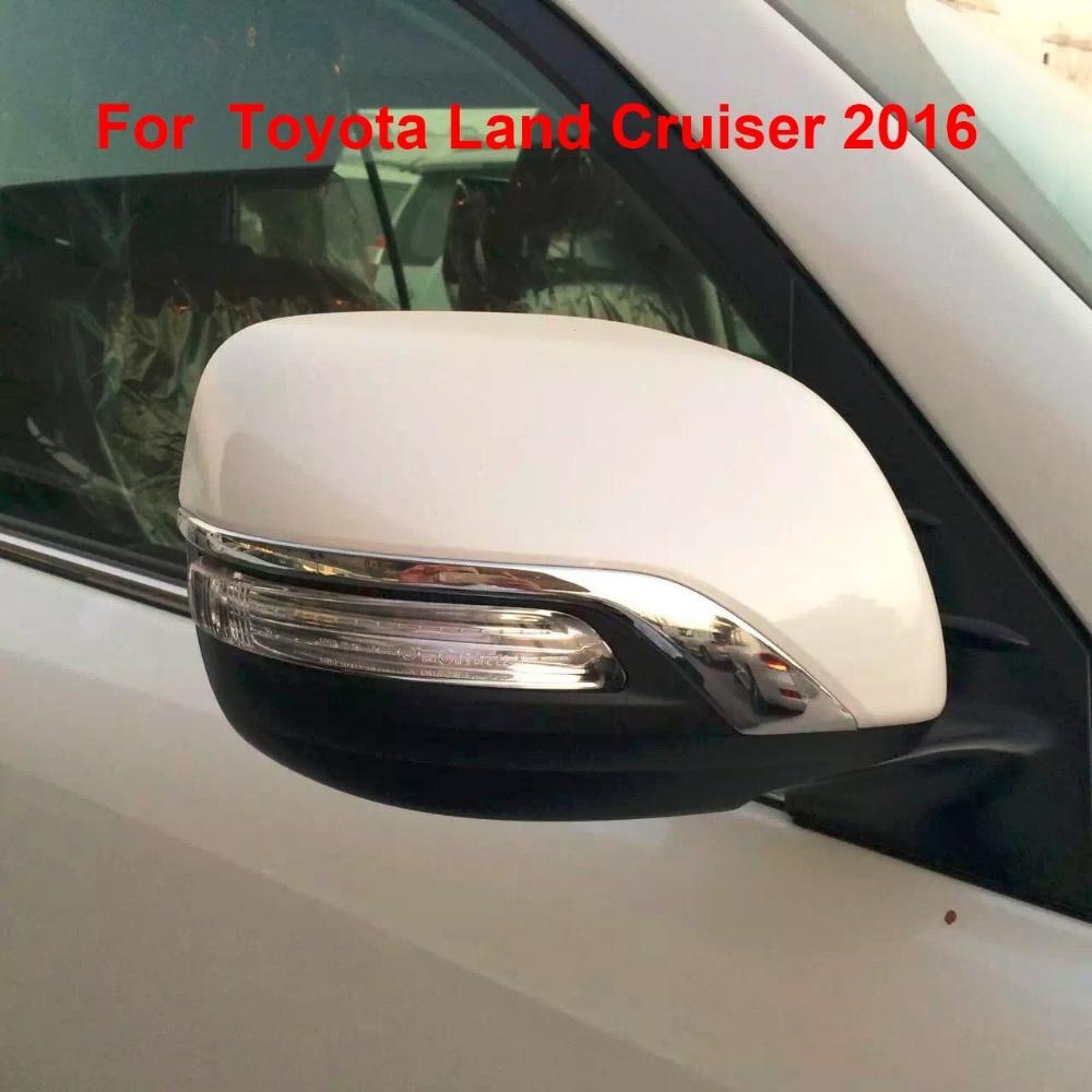 Prix pour 2016 Rétroviseur Side Mirror Cover Versions Pour Toyota Land Cruiser V8 LC200 Accessoires