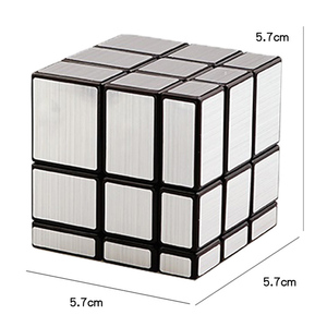 Image 5 - Magic Cube Third order Mirror Shaped Children Creative Puzzle Maze Toy Adult Decompression Anti pressure Artifact Toys TY0306