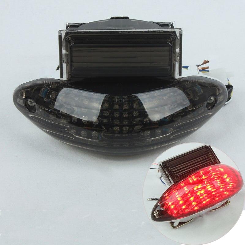 1х задние стоп Сигналы поворота Интегрированный Светодиодный свет для Suzuki Hayabusa GSXR1300 1999-2007, Katana 600/750 2003-2006