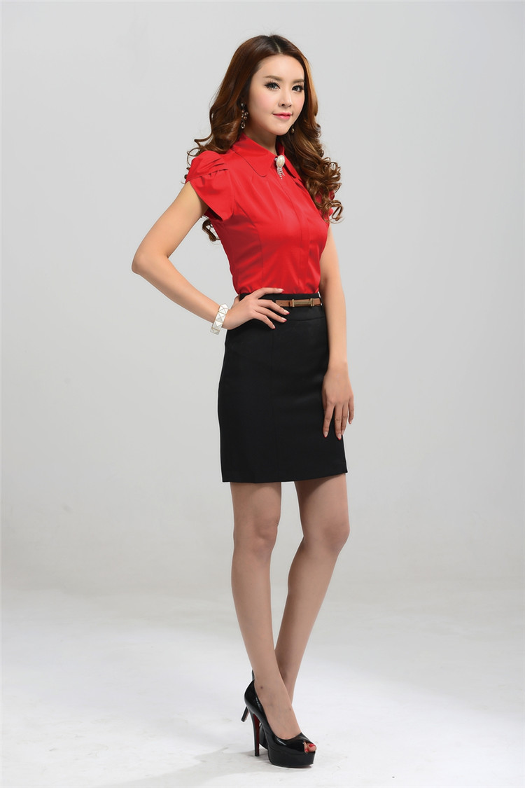 New Women Skirt Black White Professional Short Skirts Fashion All Matched Female Saias Larger Size Office Uniform High Quality In From S