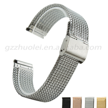 2015 novo estilo hot Elastic Staihless aço mm pulseira com moda buckle frete grátis 16 mm 18 mm 20 mm 22 mm 24 mm