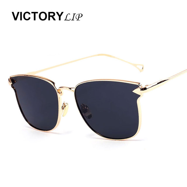 buy sunglasses  Aliexpress.com : Buy VictoryLip New Arrival 2016 Cat Eye Arrow ...