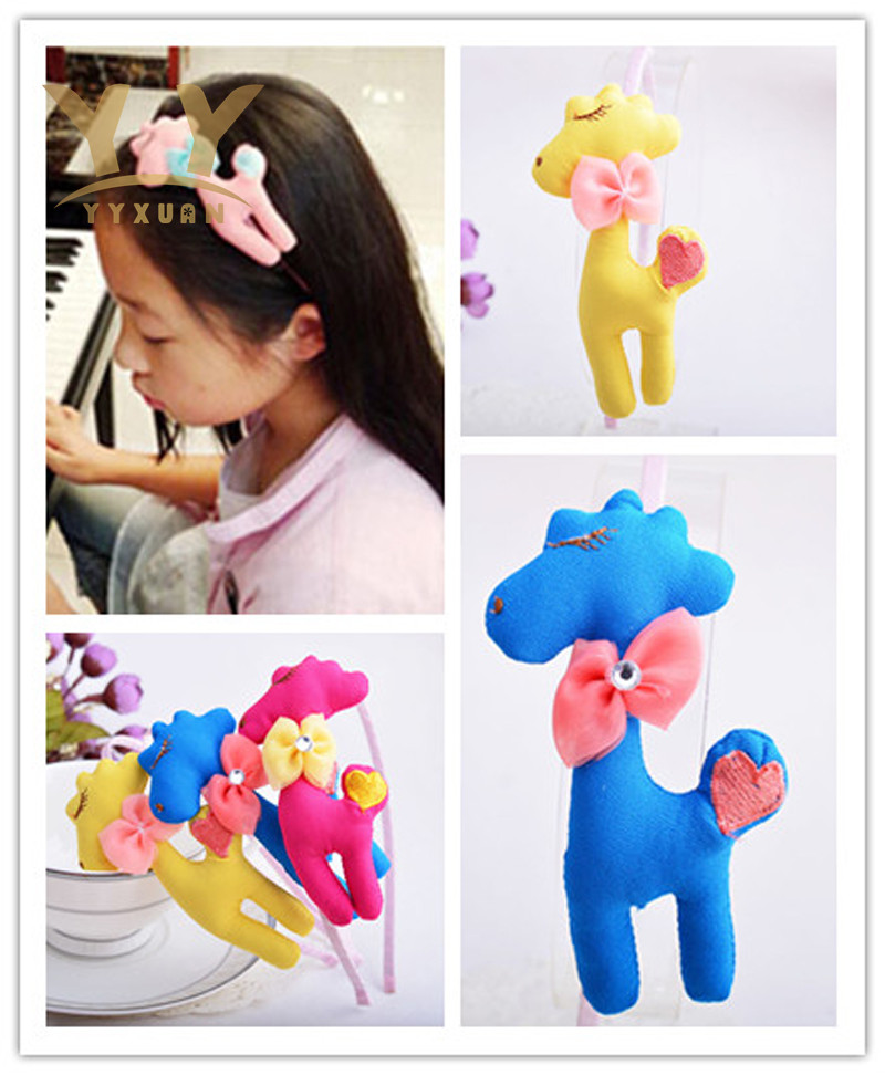 1 Piece New Kids Hair Accessories Girls Animal Headband Hair Child Head wear Solid Hair Accessories For Girl newborn photography props child headband baby hair accessory baby hair accessory female child hair bands infant accessories