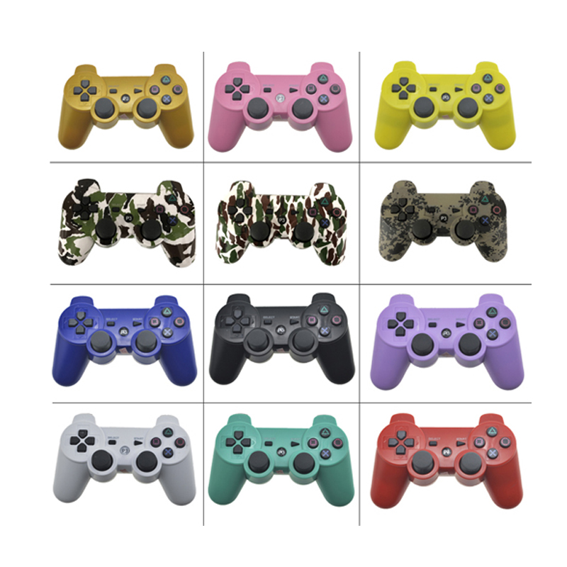 For PS3 Wireless Bluetooth Controller For Play Station 3 Joystick Wireless Console For PC Dual Vibration Gamepad