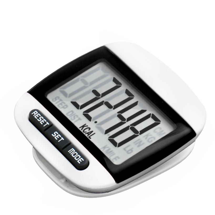 Activing LCD Digital Step Pedometer Walking Calorie Counter Distance Run Belt Clip New ST29