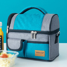 new fashion lunch bag  thermal insulated food for women and kids Large capacity casual box picnic