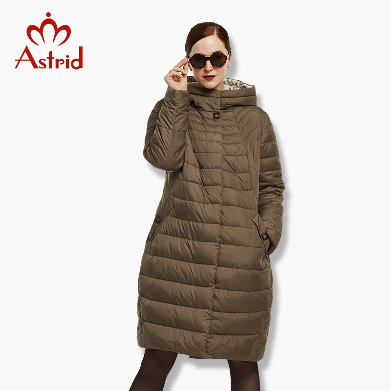 2019 Astrid Big Size down jacket Cotton Outwear Women's large   Parkas   Winter Women's Jacket Coat Warm New Winter FR-1816
