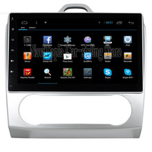 NaviTopia 10.2inch Quad Core Android 4.4 Car GPS Navigation for Ford Focus 2 Manual Stereo Radio Auto Electronics In Dash