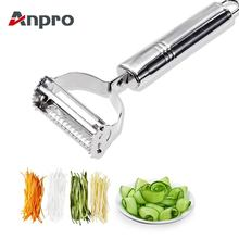 Anpro Stainless Steel Peeler Grater Multi-function Fruit Peeler Vegetable Fruit Peel Shredder Slicer Grater Kitchen Accessories(China)