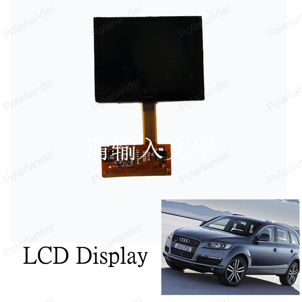 Top Sell LCD Monitor LCD Screen  For Audi TT LCD Display High Quality New 2016